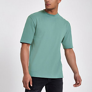 Only & Sons – Grünes Oversized-T-Shirt