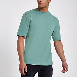 T-shirt oversize Only & Sons vert