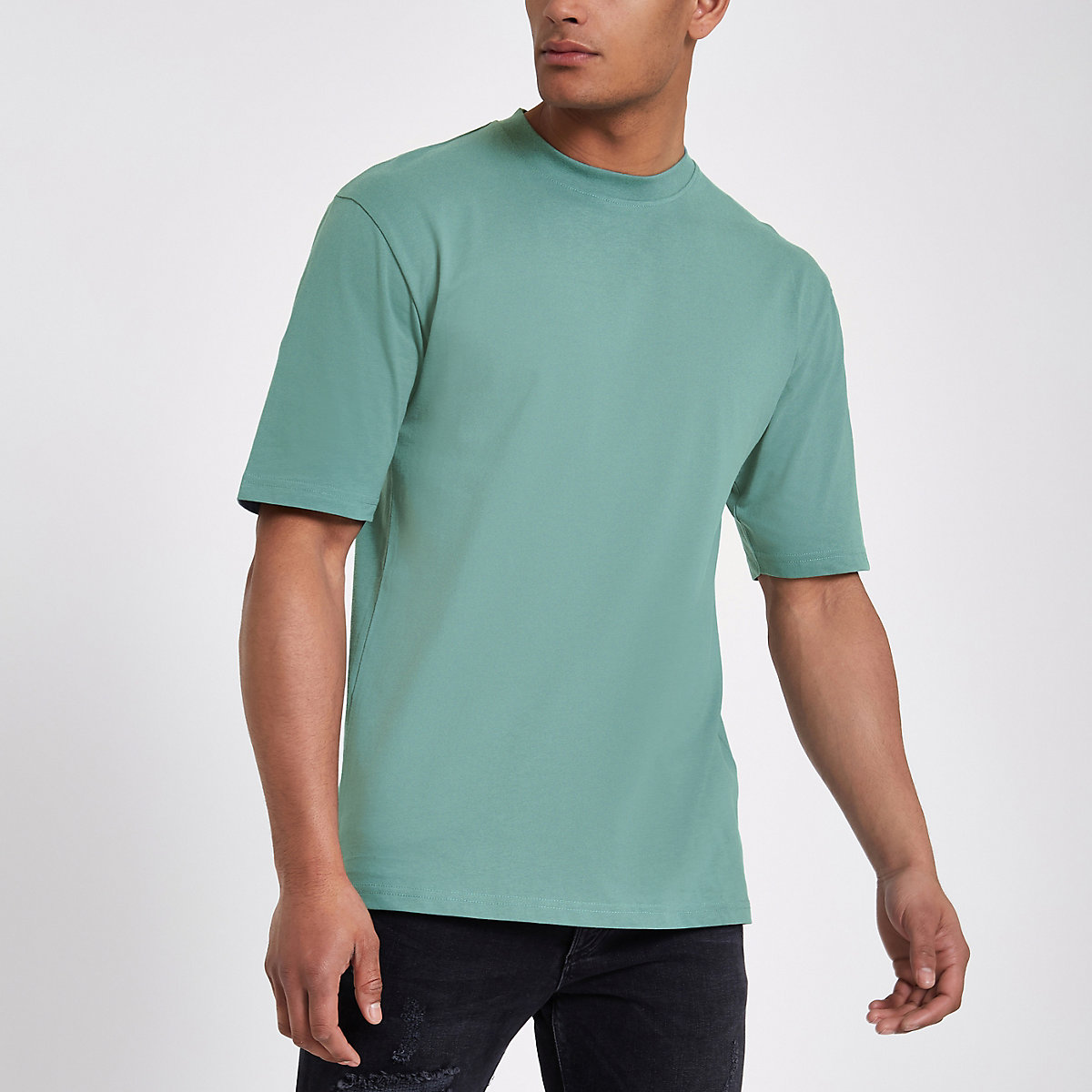 Only & Sons green oversized T-shirt