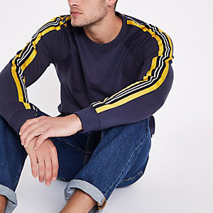 Only & Sons navy sweatshirt