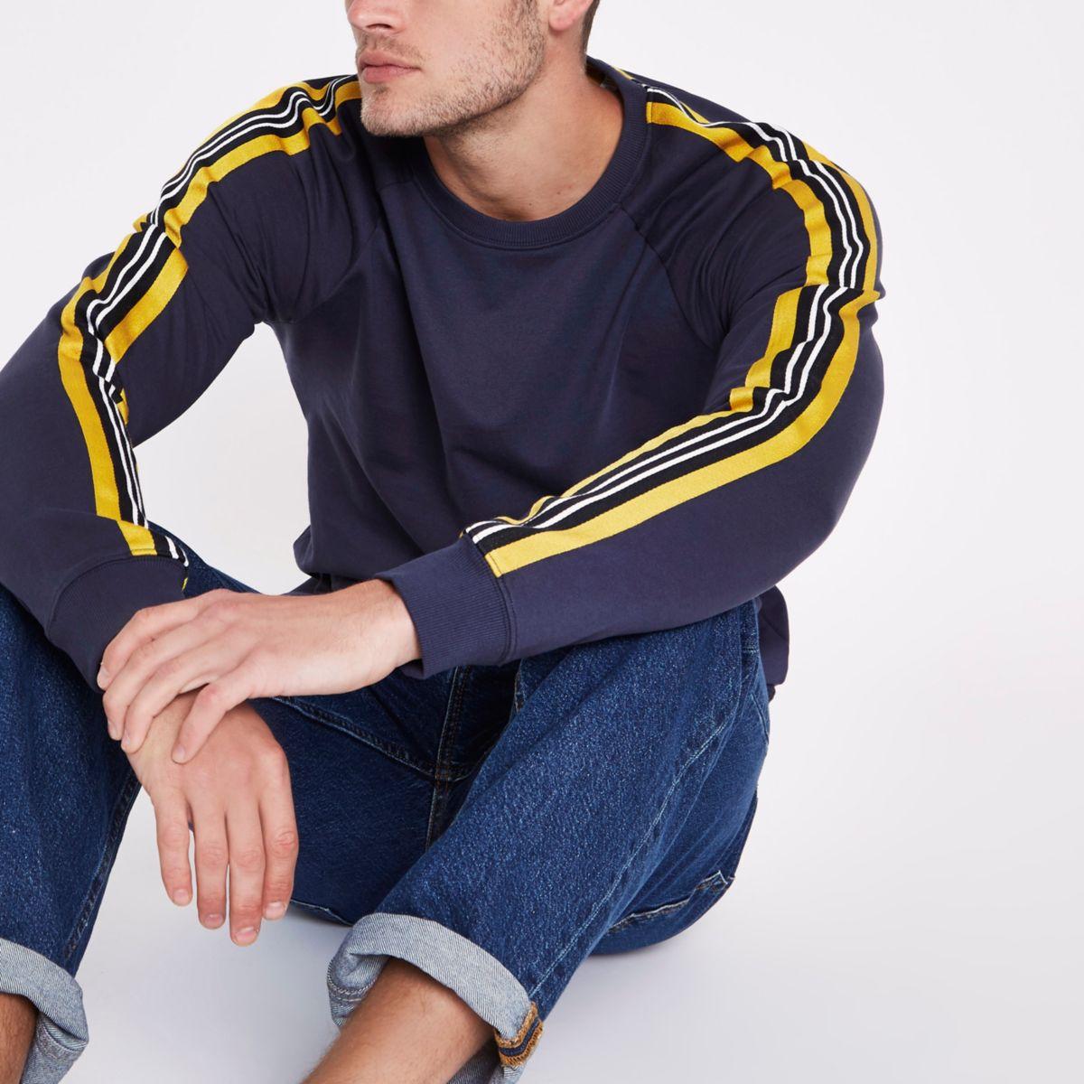 Only & Sons navy sweatshirt