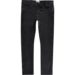 Wrangler – Spencer – Schwarze Slim Fit Jeans