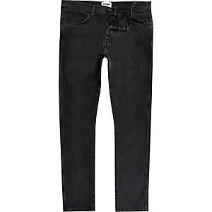 Wrangler - Zwarte spencer jeans