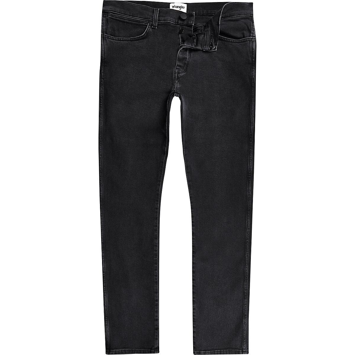Wrangler black Spencer slim fit jeans
