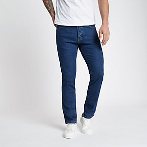 Wrangler – Spencer – Blaue Jeans