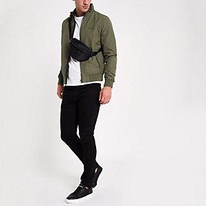 Wrangler khaki bomber jacket