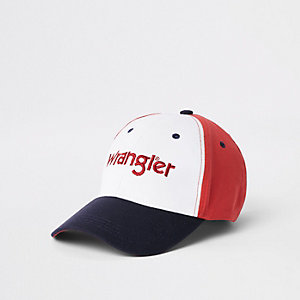 Wrangler navy colour block cap