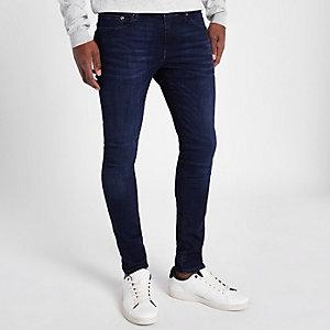 Danny – Jean skinny stretch bleu foncé