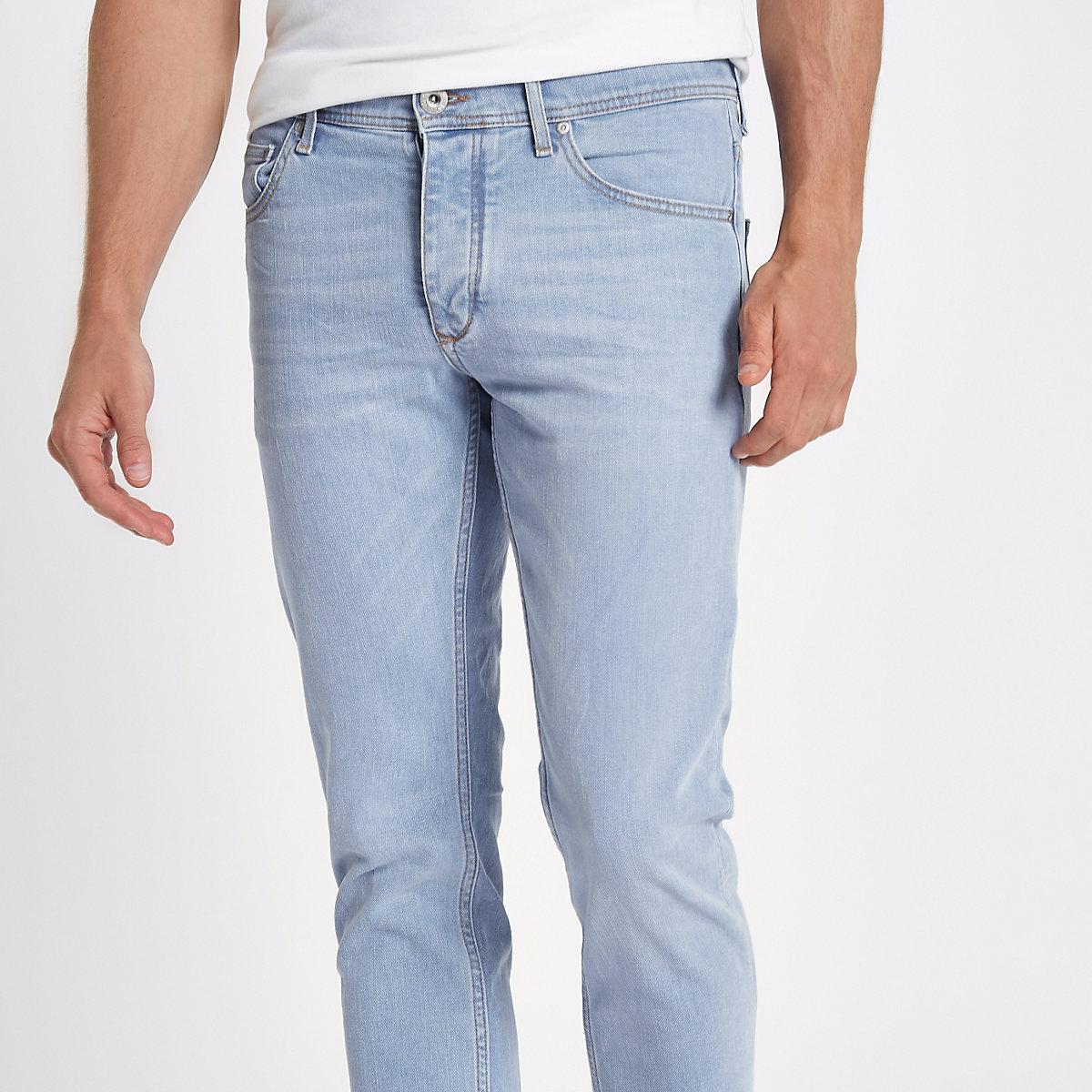Light blue skinny Sid jeans