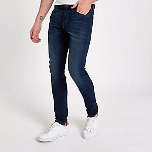 Lee – Blaue, dehnbare Skinny Fit Jeans