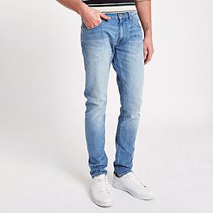 Lee light blue slim tapered Luke jeans