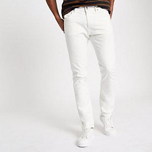 Lee – Jean slim fuselé blanc