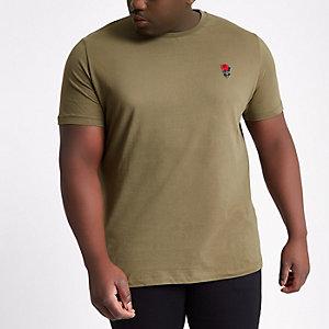 Dunkelgrünes T-Shirt