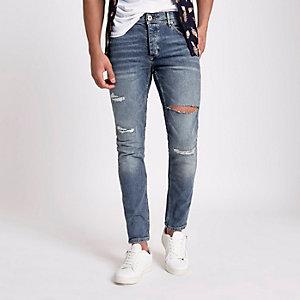 Sid - Blauwe skinny stretch jeans