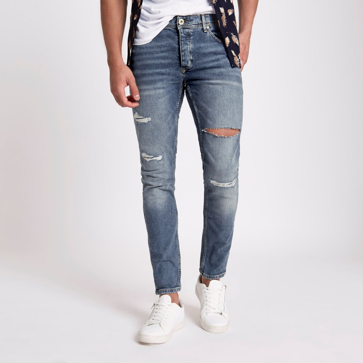 Blue Sid skinny stretch jeans