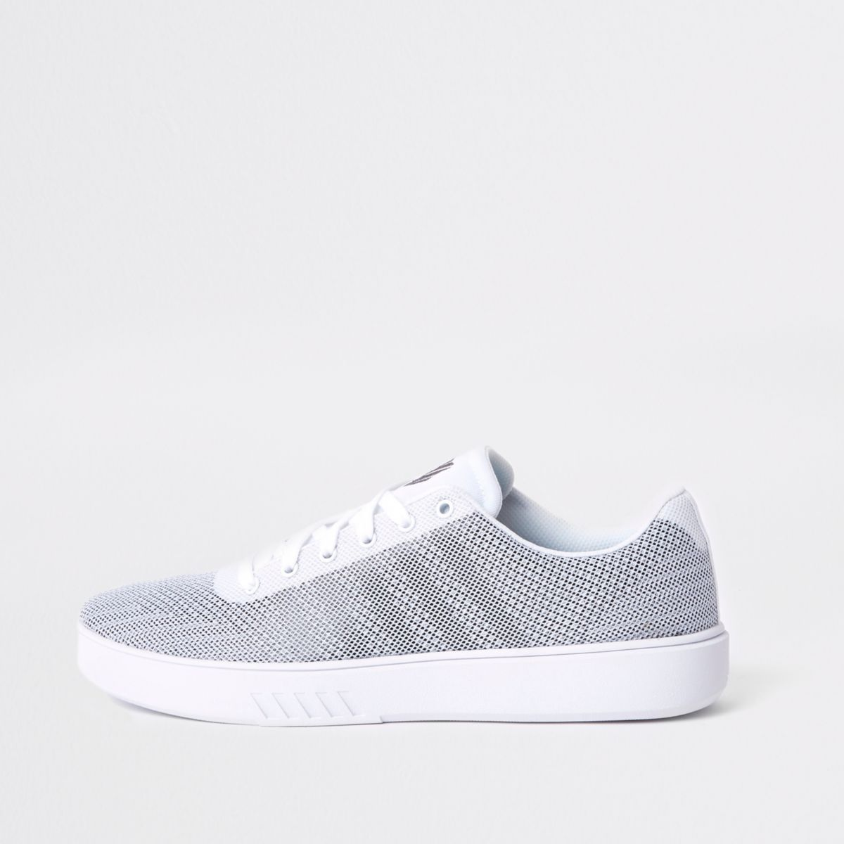 K-Swiss white mesh trainers