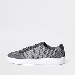 K-Swiss grey mesh trainers