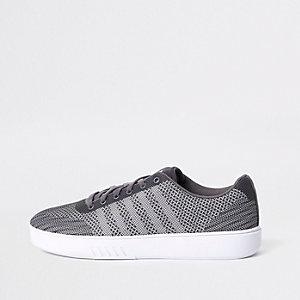 K-Swiss - Grijze mesh sneakers