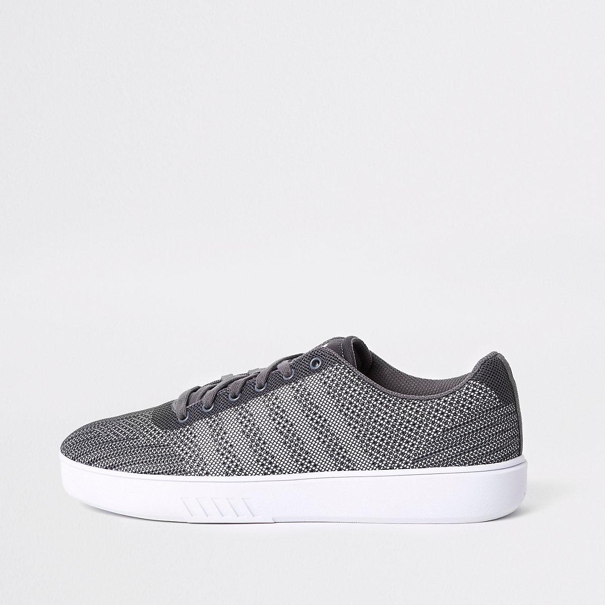 K-Swiss grey mesh sneakers