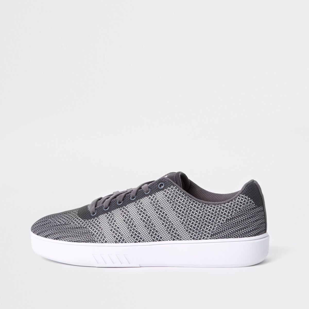 K-Swiss grey mesh sneakers