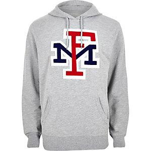 Grey Franklin and Marshall hoodie