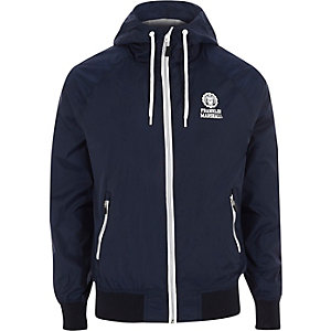 Franklin & Marshall blue lightweight jacket