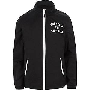 Navy Franklin & Marshall lightweight jacket