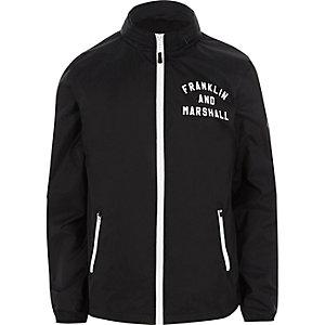 Franklin & Marshall - Marineblauw lichtgewicht jack