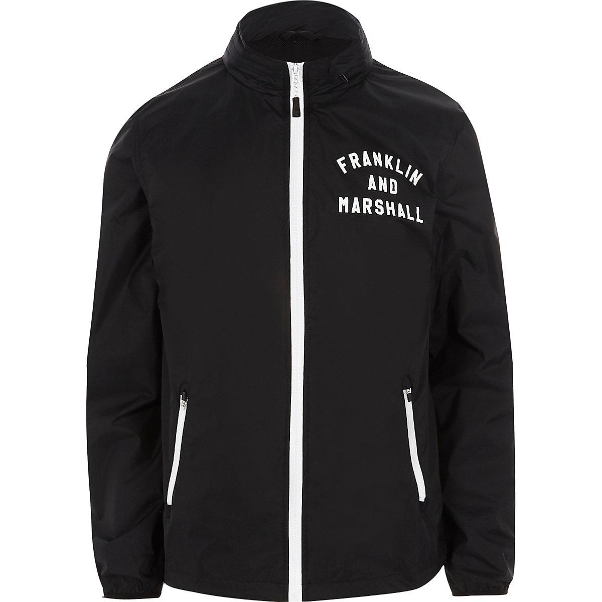 Franklin & Marshall navy lightweight jacket
