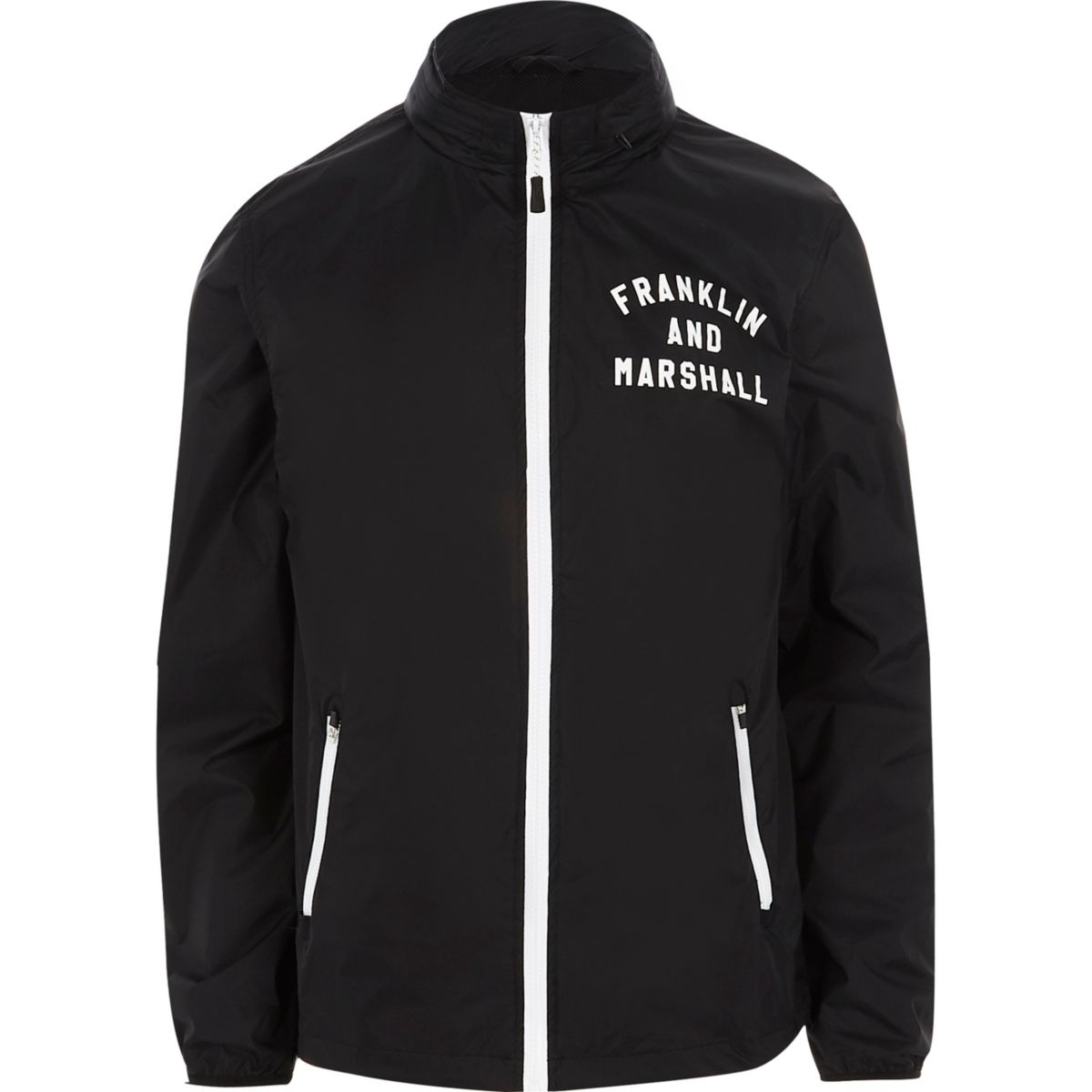 Franklin & Marshall – Marineblaue, leichte Jacke