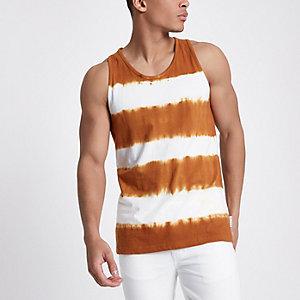Bellfield - Oranje tie-dye hemdje