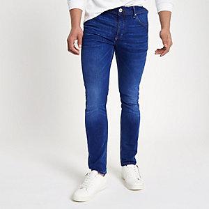 Eddy - Middenblauwe skinny jeans