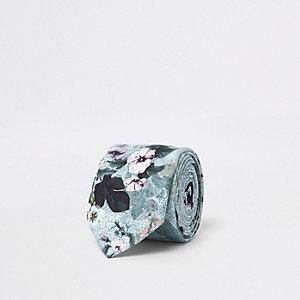 Krawatte mit geometrischem Blumenmuster