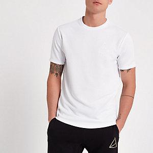 "Weißes Slim Fit T-Shirt ""MCMLX"""