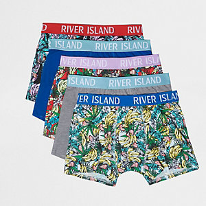 Big and Tall Banana Rama trunks multipack