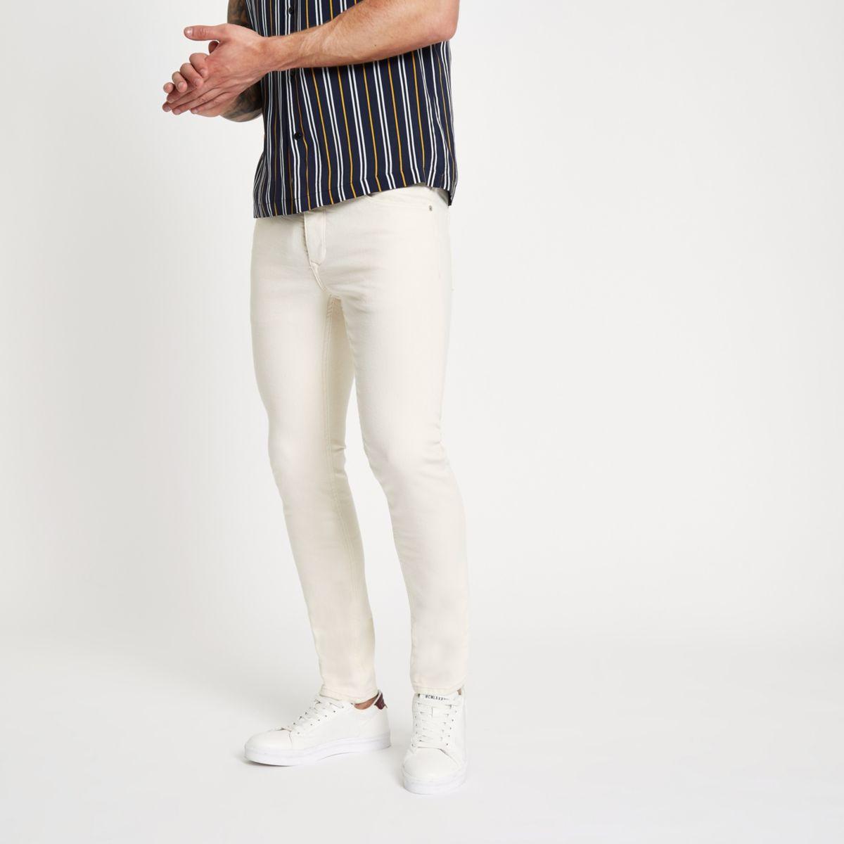 Sid – Jean skinny crème