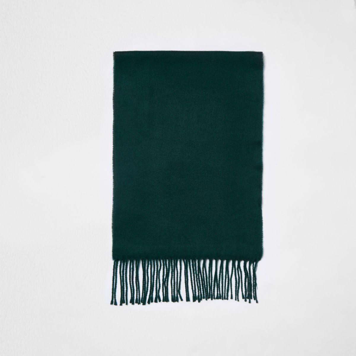 Dark green scarf