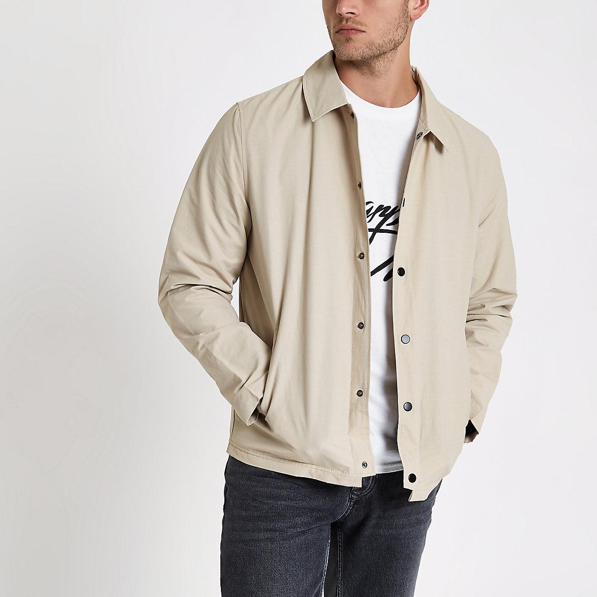 Stone lined coach jacket