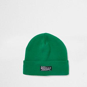 Bonnet vert vif