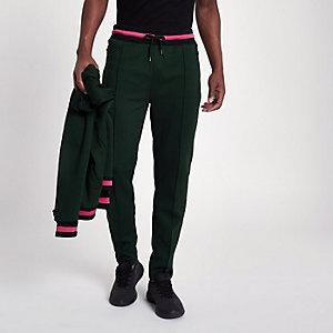 Pantalon de jogging slim vert