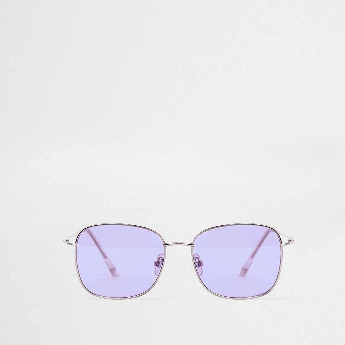 Purple hex sunglasses