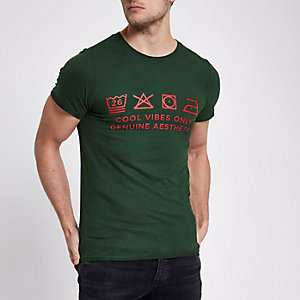 Groen Ditch the Label liefdadigheid T-shirt