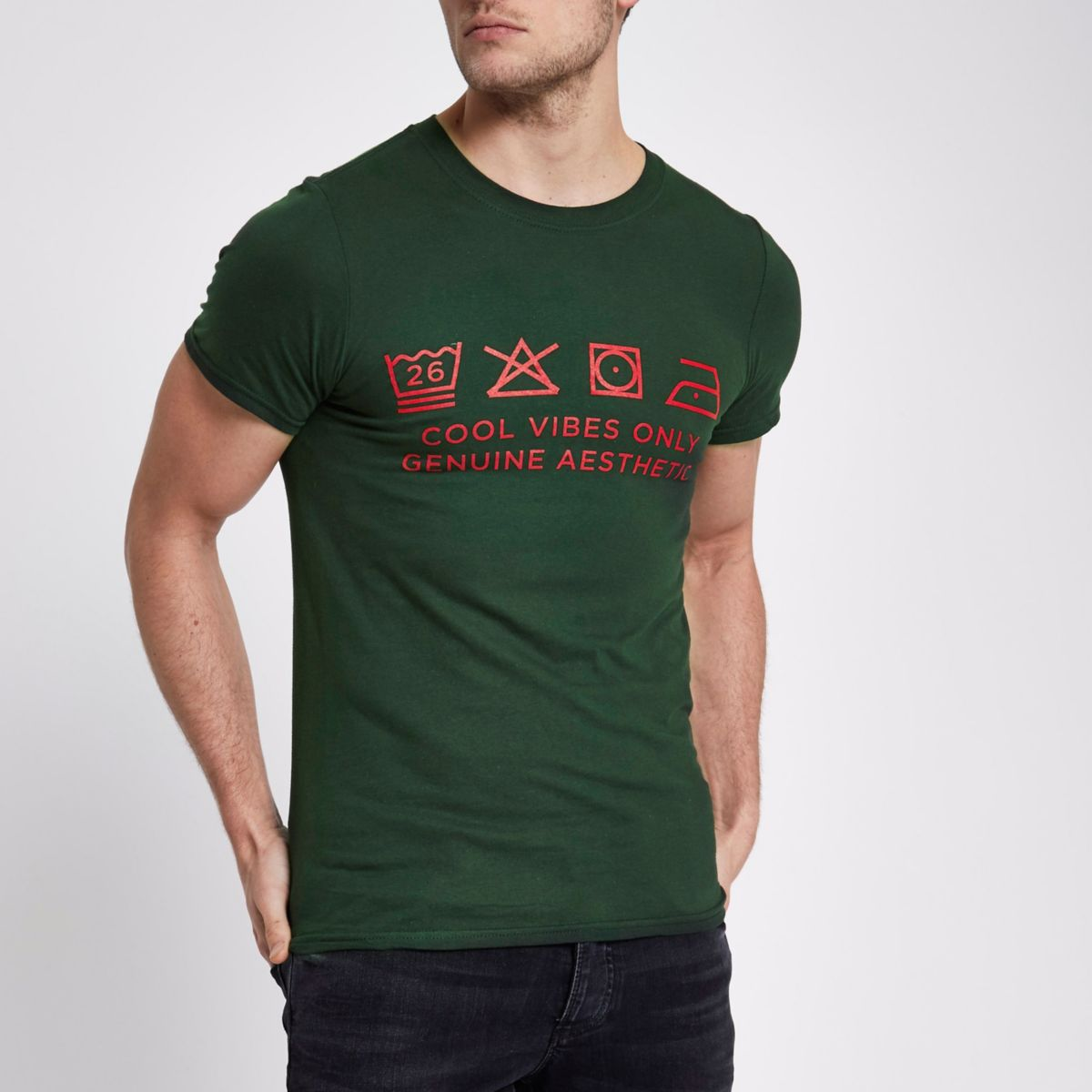 Green Ditch the Label charity T-shirt
