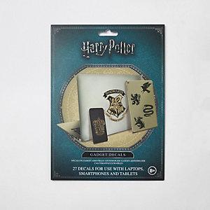 Harry Potter Hogwarts gadget decals set
