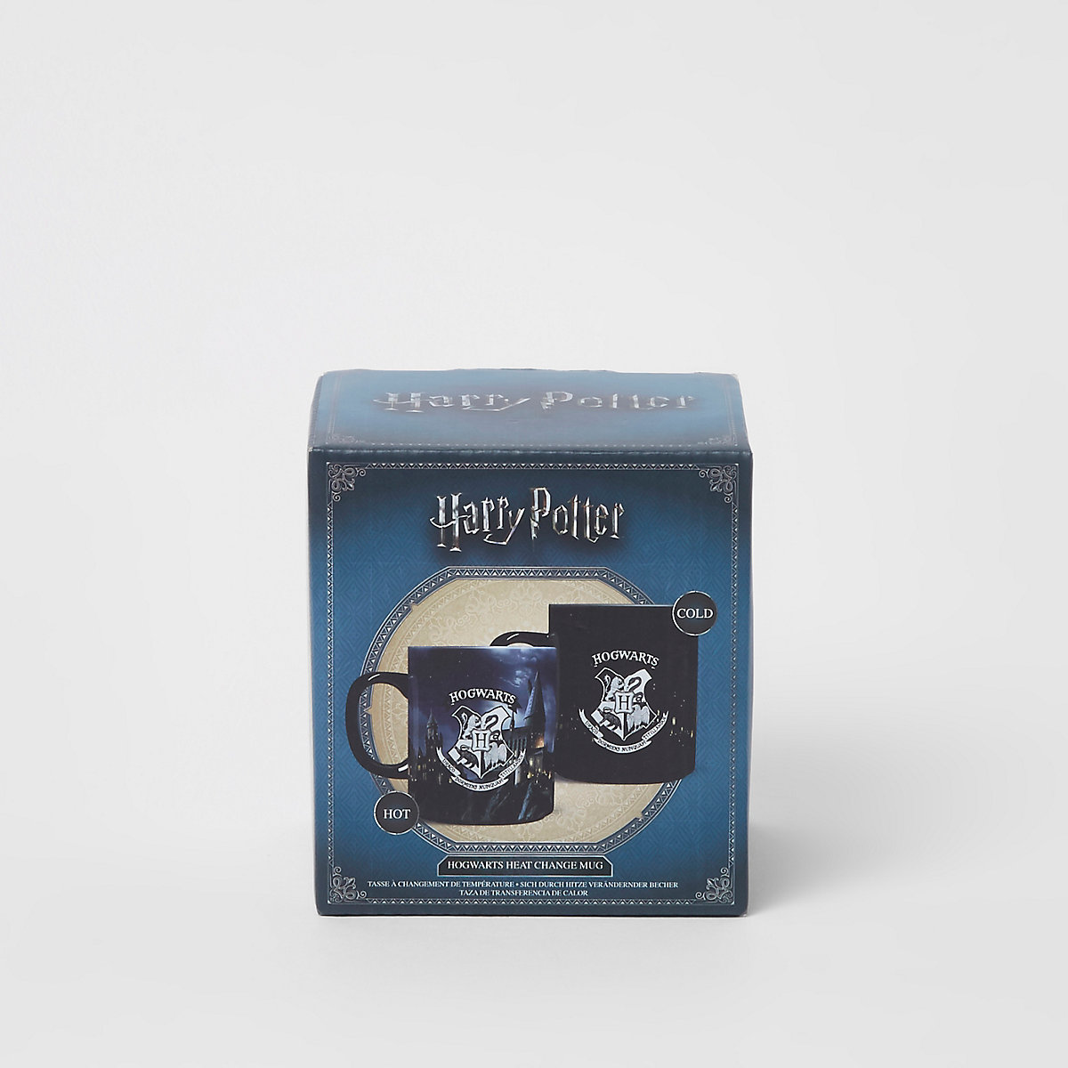 Blue Harry Potter heat change mug