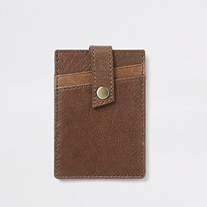 Brown wallet holder