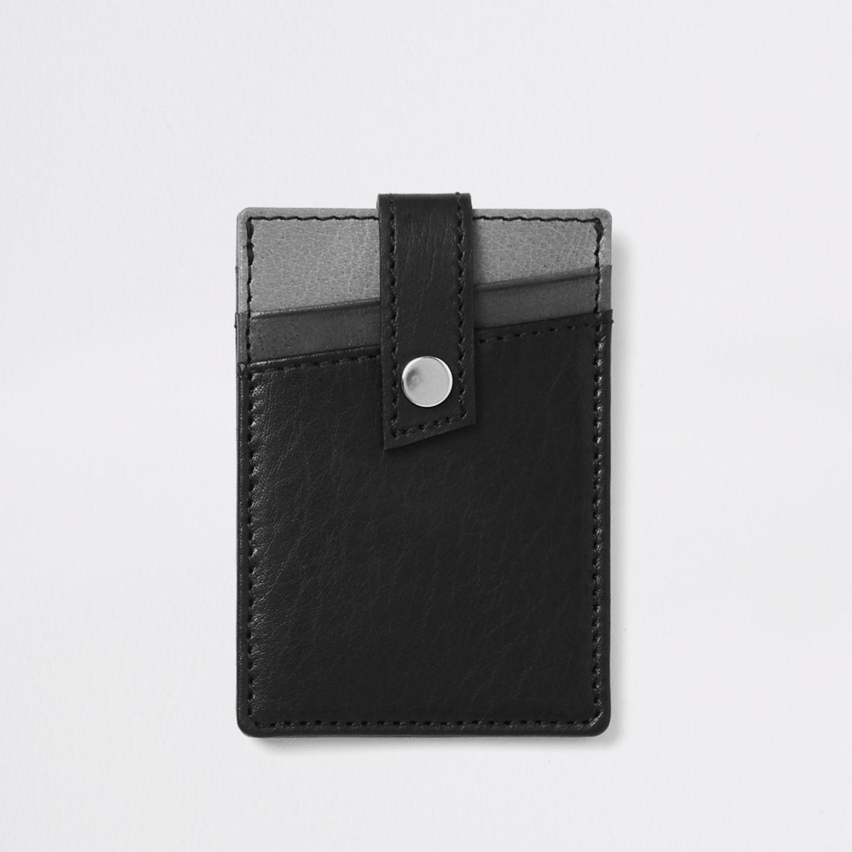 Black wallet holder