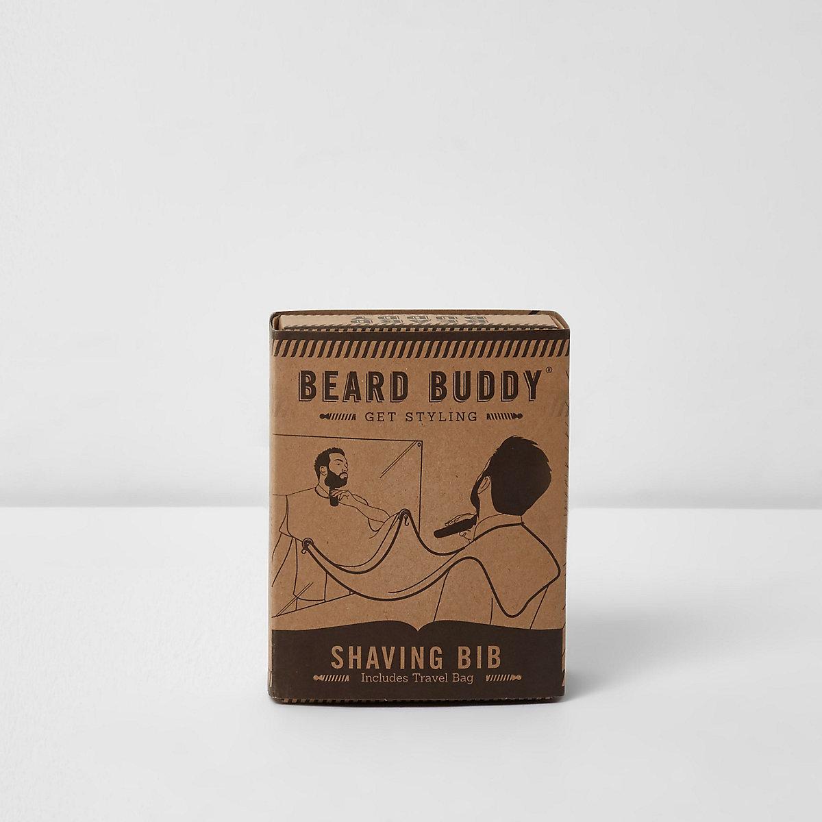 Black beard buddy shaving bib