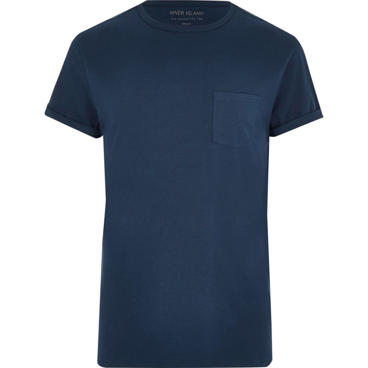 Tall pocket and T navy Big shirt chest qR6c5