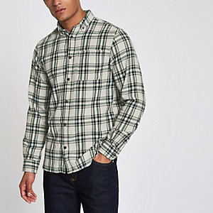 Jack & Jones – Chemise Original verte à carreaux